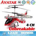 Diretamente venda quente 1:14 avatar 4ch helicóptero rádio controlado brinquedos e hobbies