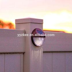 Solar Power Outdoor Garden Light LED Fence Wall bracket light fitting portable solar led light