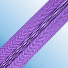 high quality plastic nylon zipper long chain nylon zipper nylon zipper for bags made in guangzhou