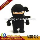 Bulk Cheap Animated USB 16GB Japanese Ninja Flash Drives