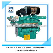 Small Diesel Engine 60Hz Air Cooled V8 4 Stroke Engine for Sale