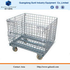 Folding Metal Wire Mesh Cage