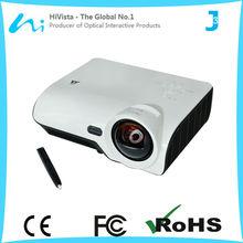 Hivista short-throw 3d cheap full hd r best cheap video business projectors for sale