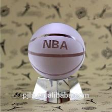 collecting the crystal basketball ball