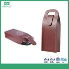 bottle leather wine bag carrier