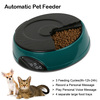 Pet Mate 4 Meals Large Volume Digital Timer Record Feeder Automatic Pet Feeder Dish for Your Smart Pets