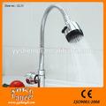 360 grau flexível rotativa cromado filtro de água torneira de aço inoxidável