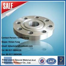 high quality HG/GB/JB/JIS/DIN/ ANSI/ class 600 rtj flange titanium