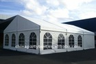 25m big party tent inside view