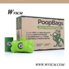 360Counts Biodegradable Waste Bags Refill,Pet Waste Bag on Roll-9x13inches,24Rolls of 15Bags