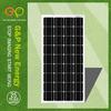 10w monocrystalline solar panel price india with CE/CEC/TUV/ISO