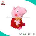 2014 mais recente venda quente mini-pelúcia peppa porco produtos para bebés