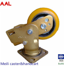 Shock Absorbing Heavy Duty Caster And Wheel For Industry