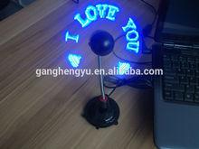 clock fan with temperature display&digital,USB LED fan clock