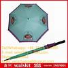 Light blue auto open straight golf umbrella, gift golf umbrella, self design golf umbrell