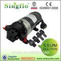 160 5.5l/min psi hydraulique électrique 12v singflo dc pompe à eau pour le lavage de voiture