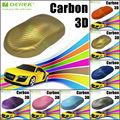 Größe: 1.52*30m/Material: pvcgold 3d carbon folie mit luft frei blasen