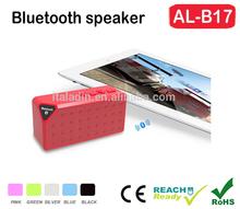 2014 Fashion Designed Gift Portable Wireless Mini Bluetooth Speaker with handfree