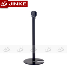 Balck Bank/Hotel/Airport Stackable queueing Stanchion Electronic Security Barriers