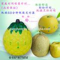 Pino en forma de manzana lindo colorido de frutas de plástico temporizador mecánico