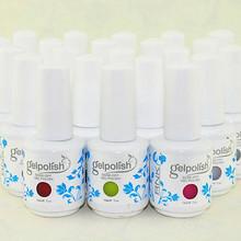 wholesale high gloss color uv gel for gelish harmony RNK uv gel polish