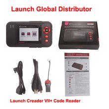 New Original Auto Code Reader 7+ Launch X431 Creader VII+ Equal To CRP123 Creader VII+ Plus Update Via Offical Website