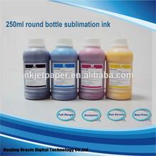 Dye ink sublimation