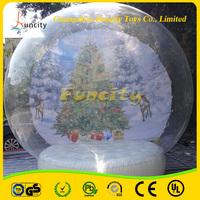 Inflatable snow globe/Christmas inflatable snow globe/Christmas inflatable snow globe ball