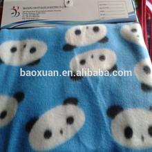 panda fleece fabric for boy blanket