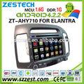 Zestech 7 pollici car audio per hyundai elantra auto sistema audio con Android 4.2.2