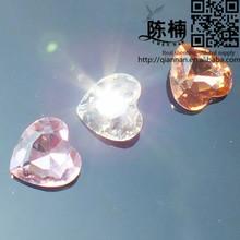 New Arrival Fashion Gems Heart Shape Glass Gems