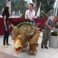 shopping controleremoto dinossauro passeios em robô dinossauro exposição