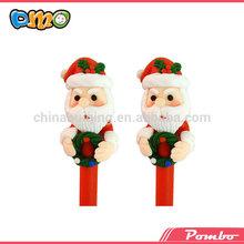 christmas gift !!! promotion pen factory santa polymer clay pen