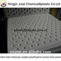 Ultra high molecular weight polyethylene suction tank panel