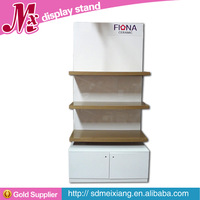 MX-WSF015 Wooden display rack/ wooden clothes display rack and cabinet for fashion store