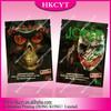 Custom printing plastic aluminum foil spice bag / Dead man 4g 2 flavours herbal incense potpourri ziplock bag