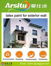Arisitu white exterior wall paint acrylic base coat paint