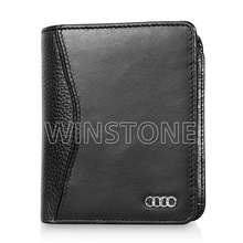 2014 fashion new design leather business card holder wallet