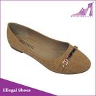 China wholesales girls casual ballerina flat shoes