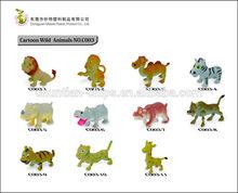 "2"" Funny farm animals,plastic animal toy,zoo animal"