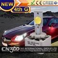 a quarta geração 3200lm super brilho bulbo d1 cree chip lâmpada led cabeça