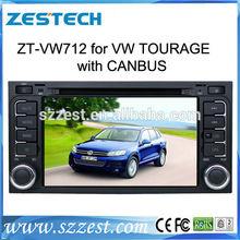 ZESTECH good quality oem touch screen car entertainment system for volkswagen touareg gps multimedia navigation