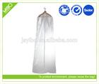 Customized clear peva waterproof storage clear dance garment bags print your logo