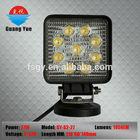 24w wholesale price led light , 4''round LED car lamp ,dirt bike led lamp .