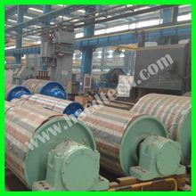 Conveyor pulley shell, conveyor pulley shaft, conveyor pulley bearing