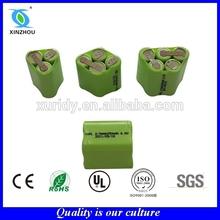 nimh rechargeable battery 1.2V 2/3AAA 250mah