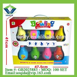 promotional toys eva toys soft bowling combination