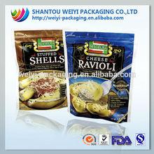food blast freezer pouch/halal potato chips pouch/twist potato chips pouch