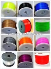 rubber and plastic compounding for 3d plastic printer