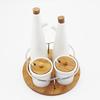 oil bottle & jars porcelain